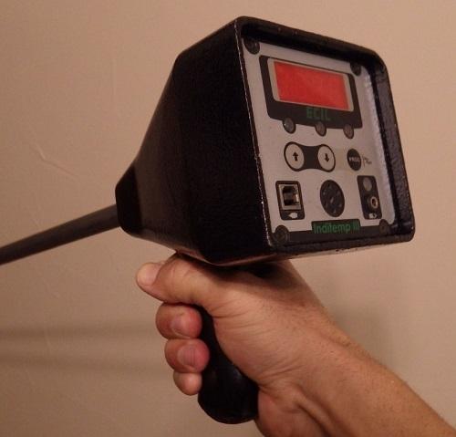 inditemp iii handheld digital pyrometer