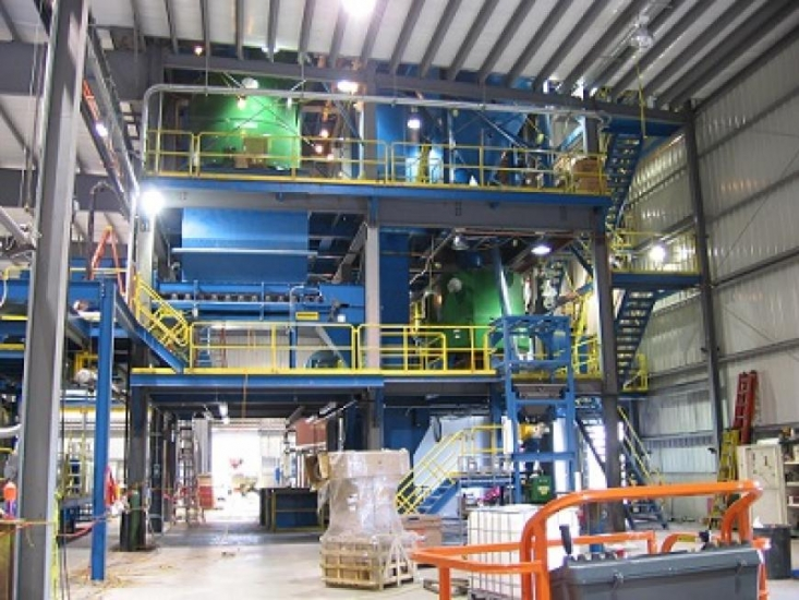 Frac Sand Plants at Del Sol Industrial Services