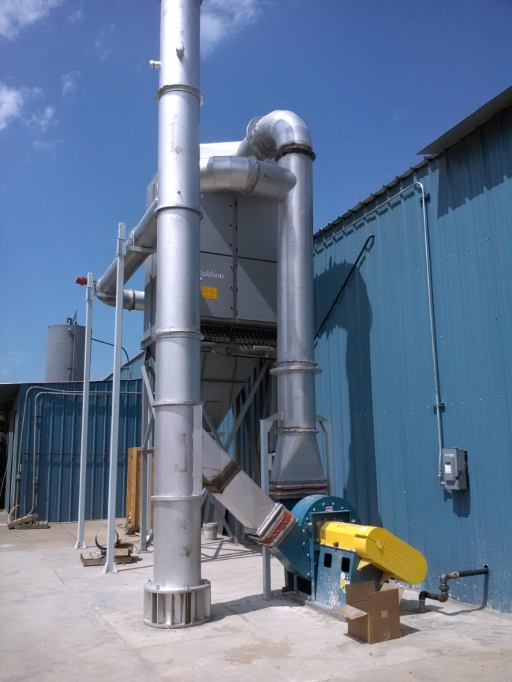 EnviroAir Dust Collection System