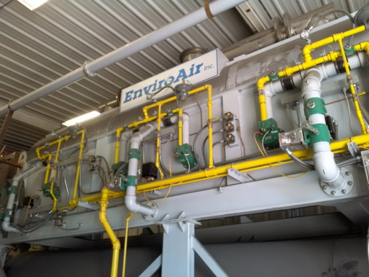 EnviroAir Rotary Thermal Sand Reclaimer