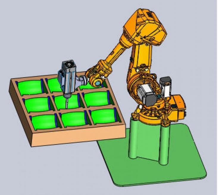 robotic molding