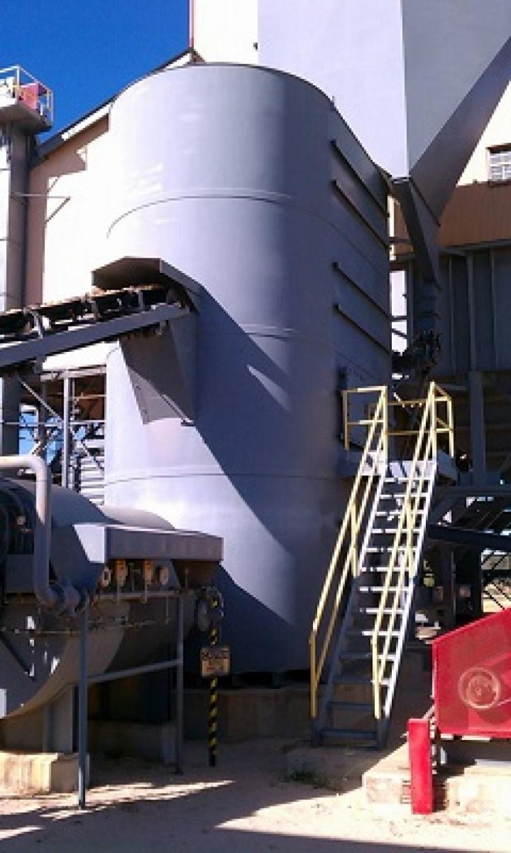 Fluidized Bed Frac Sand Dryer